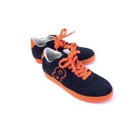 Gattino Gattino Dk blue orange