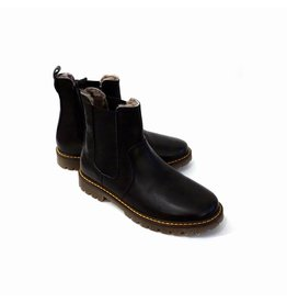 Bisgaard Bisgaard Chelsea black wool lining