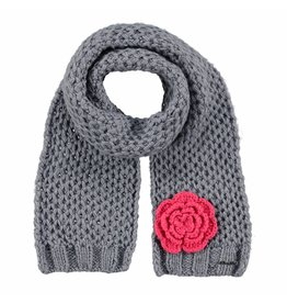 Barts Barts Rose scarf heather grey