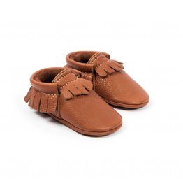 Amy & Ivor Amy & Ivor Traditional Moccasins Burnt Sienna