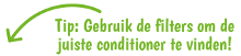 Vind de juiste conditioner