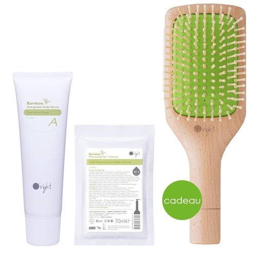 Bamboo Hairspa set A