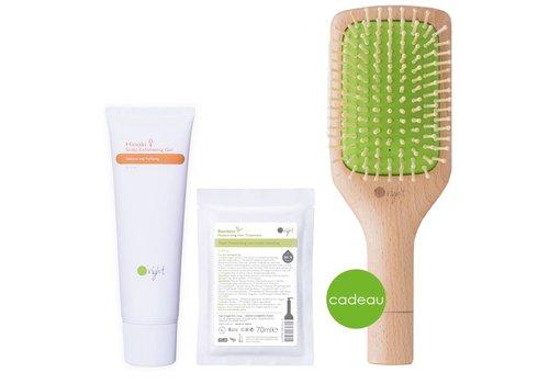 Bamboo Hairspa set Hinoki