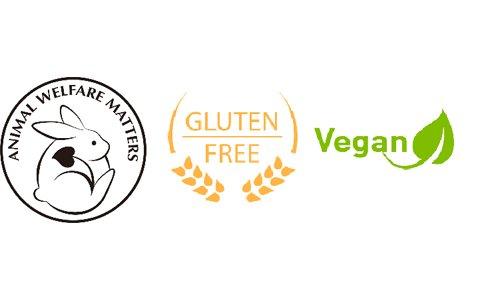 O'right; Glutenvrij & Vegan gecertificeerd