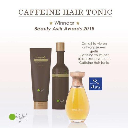 Caffeine Hair Tonic, Winnaar Beauty Astir Awards 2018