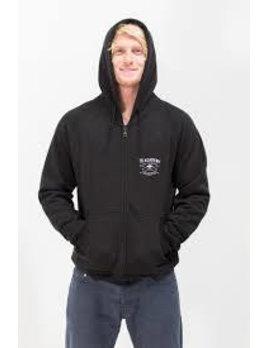 Surf Snowdonia Academy Zip Hoodie Black