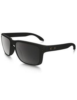 Oakley Oakley Holbrook Matte Black w/ Prizm Black Polarized