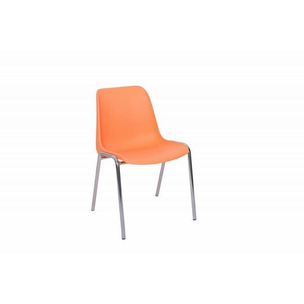Stapelstoel oranje