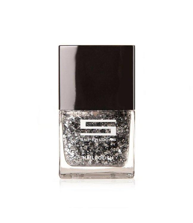 Nail Polish - 02 Silver Confetti
