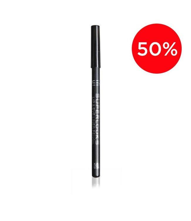 lip & Eye Liner Pencil - 01 Black
