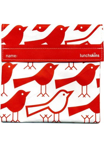 Lunchskins Lunchskins - red bird lunchzakje