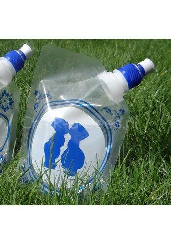 Plat waterzakjes Drinkzakje Holland - boer & boerin