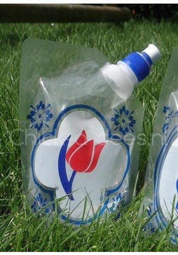 Plat waterzakjes Drinkzakje Holland - tulp