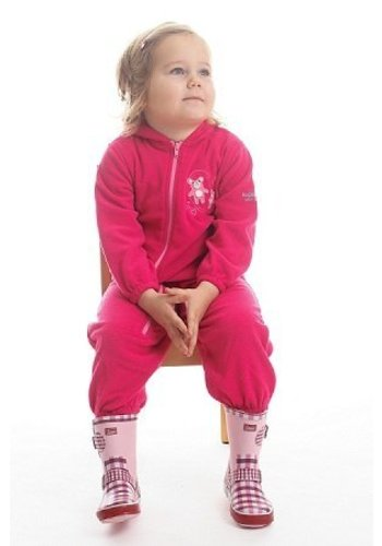 Regatta Fluffy Puddle fleece pak - roze