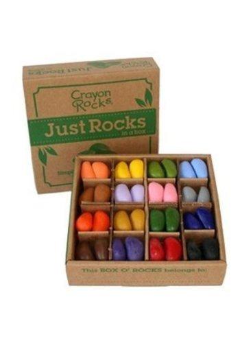 CrayonRocks Just Rocks doos met 64 soja waskrijtjes