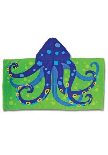 Stephen Joseph Octopus strandlaken met capuchon