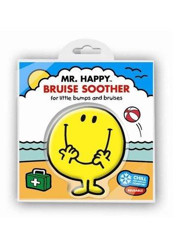 Mr. Men & Little Miss Coldpack meneertje Blij- Mr Happy Bruise soother