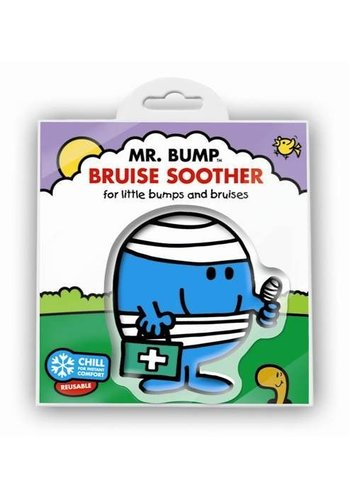 Mr. Men & Little Miss Coldpack meneertje Pech- Mr Bump Bruise Soother