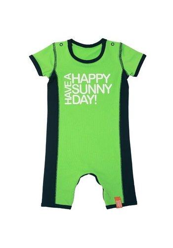 HappySunnyDays Uv-babyromper/zwempak, groen