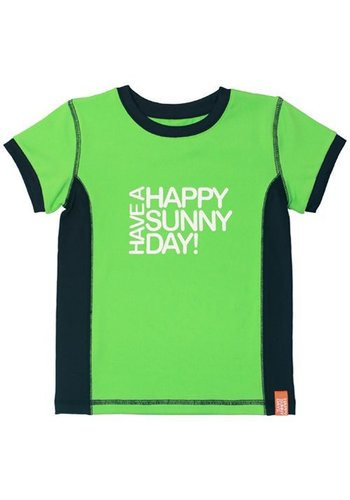 HappySunnyDays Uv-T-shirt korte mouwen ,lime groen Hawaii