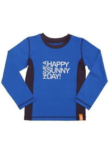 HappySunnyDays Uv-T-shirt lange mouwen, blauw, Tarifa