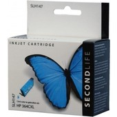 SecondLife Secondlife inktcartridge voor HP364XL blauw CB318EE