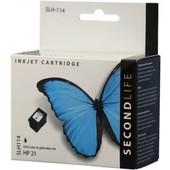 SecondLife SecondLife HP zwart inktcartridge HP 21 XL zwart C9351AE