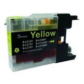 SecondLife Brother inktcartridge Brother LC1240Y geel