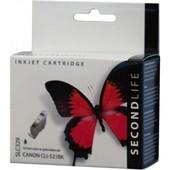 SecondLife SecondLife inktcartridge voor Canon CLI-521BK Zwart 2933B001