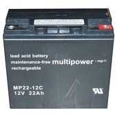 Accu 12V 22Ah Multipower  MP22-12C