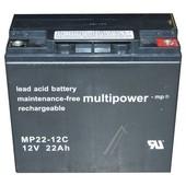 MULTIPOWER Multipower accu 12V 22Ah   MP22-12C