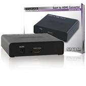 SCART > HDMI verloop SCART naar HDMI KN-HDMICON40
