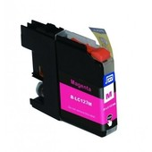 SecondLife Brother inktcartridge Brother 123M rood LC123M