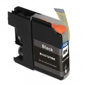 SecondLife Brother inktcartridge Brother 127BK XL zwart LC127BK LC127XLBK