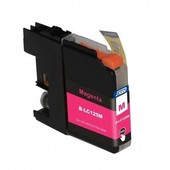 SecondLife Brother inktcartridge Brother 125M XL rood LC125M LC125XLM