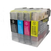 SecondLife Brother inktcartridge Brother LC1240 Multipack XL LC1240VALBPDR