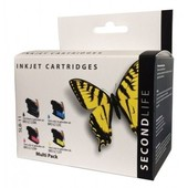 SecondLife Brother inktcartridge Brother LC123 Multipack XL LC123VALBPDR