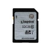 Kingston Kingston SD kaart / flashgeheugen: 32GB SDHC