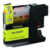 SecondLife Brother inktcartridge Brother 223Y geel LC223Y