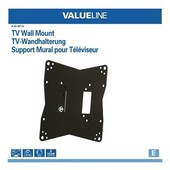 """Tv beugel TV muurbeugel 26 - 42"""" VLM-MT10"""