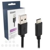 A-DAPT A-DAPT USB type A 2.0 naar USB-C 1m T138