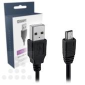 A-DAPT Datakabel Mini USB 1M zwart T024