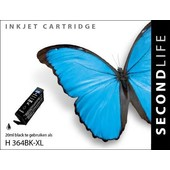 SecondLife Secondlife inktcartridge HP364XL zwart CB316EE