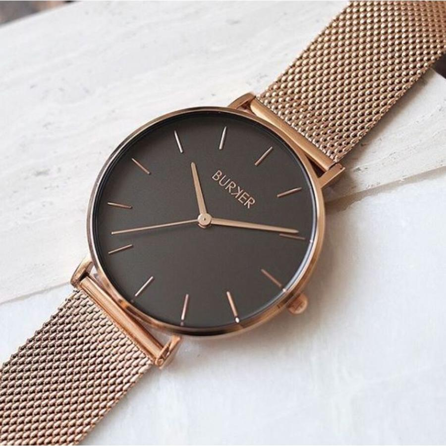 Burker Watches RUBY ROSE GOLD BLACK