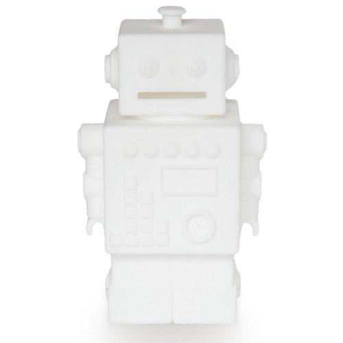 KG Design Robot spaarpot wit
