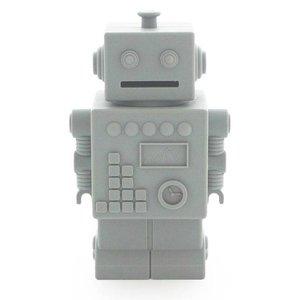 KG Design Robot spaarpot lichtgrijs