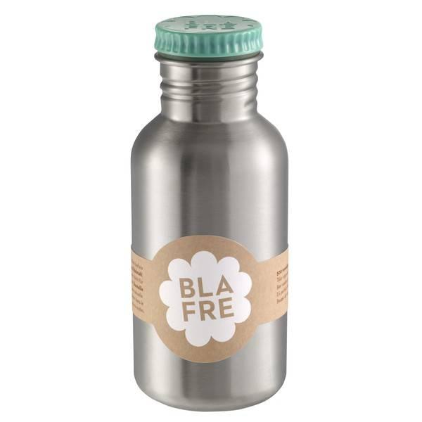 Blafre RVS drinkfles blauw van Blafre 500ml