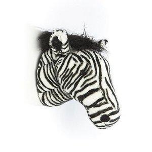 Wild and Soft Dierenkop Zebra