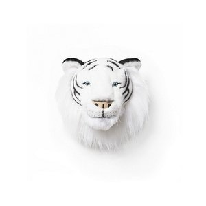 Wild and Soft Dierenkop Witte tijger