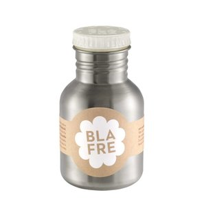 Blafre Drinkfles RVS wit 300ml